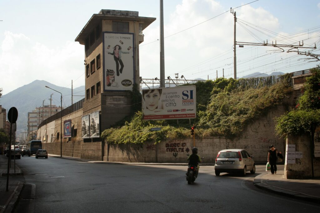 Salerno railway bridge