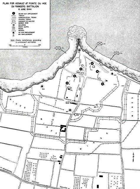Point du Hoc map