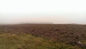 Fog at Ginkelse Heide, Ede just like in september 1944