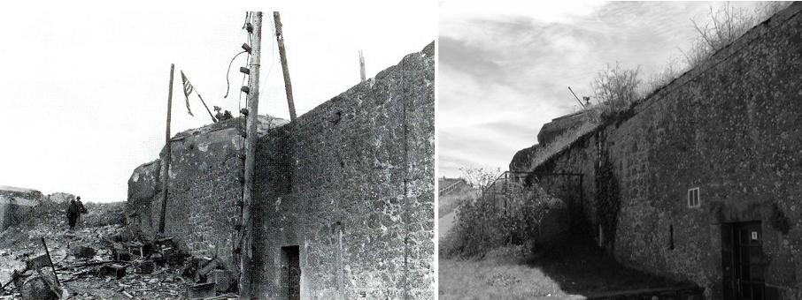 Citadel Saint Malo - raising flag