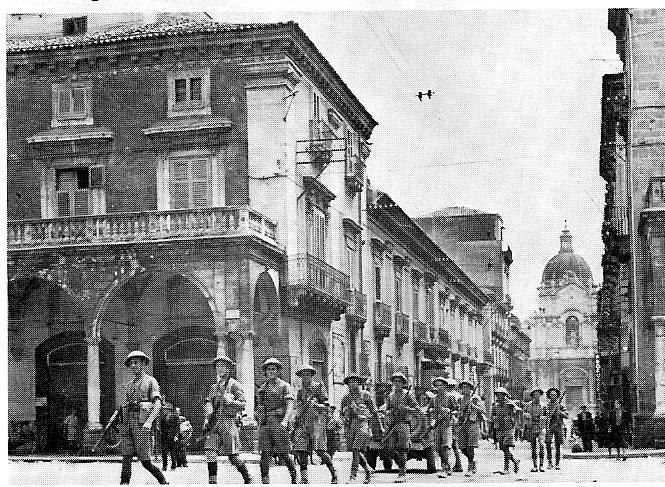 Catania 4 1943 - Hamshire Regiment