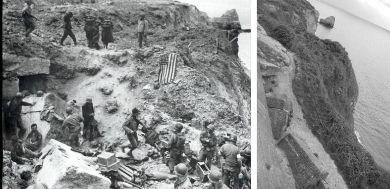 Point du Hoc on D-Day