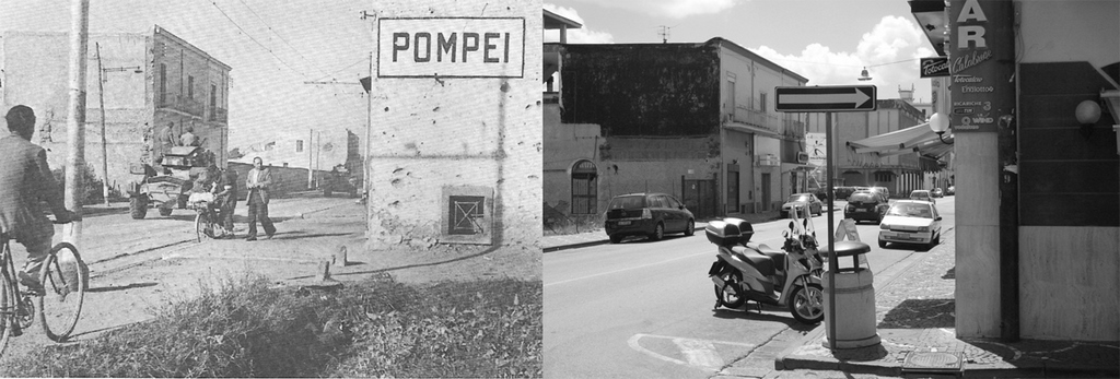 Pomei 1943 then and now