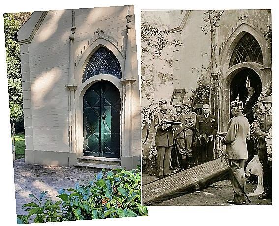Chapel Huis Doorn - temporarily resting place Kaiser Wilhelm II