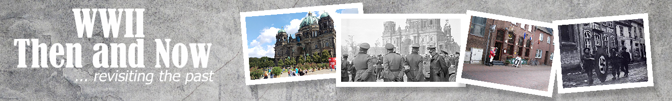 WWII Then and Now pictures