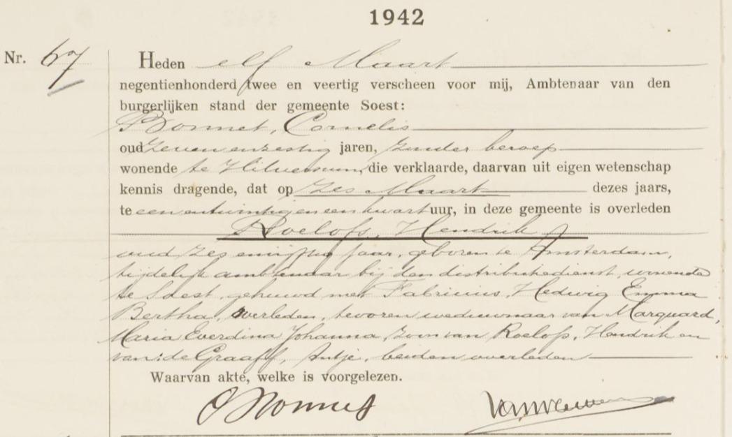 death-certificate_ Hendrik-Roelofs