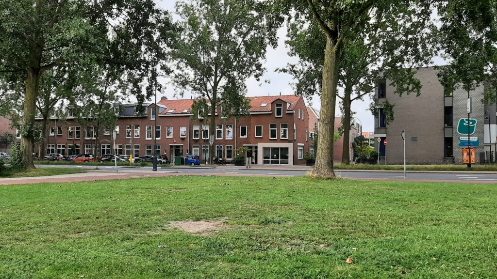 Destroyed houses on Westergracht